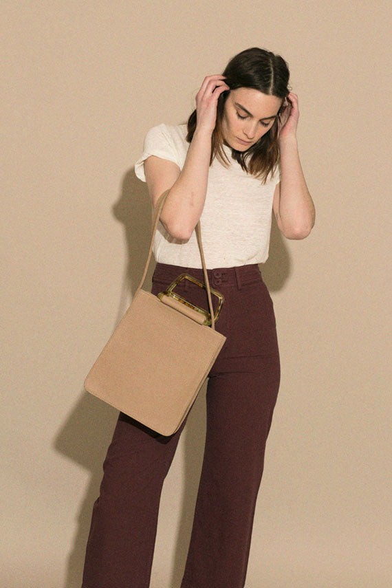 Taupe Rectangle Bag