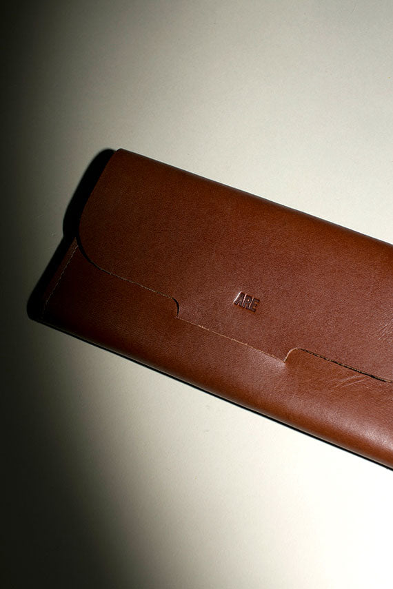 Cognac Post Wallet