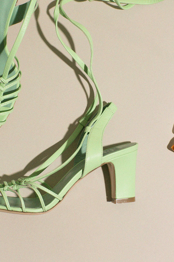 Key Lime Maribel Sandal