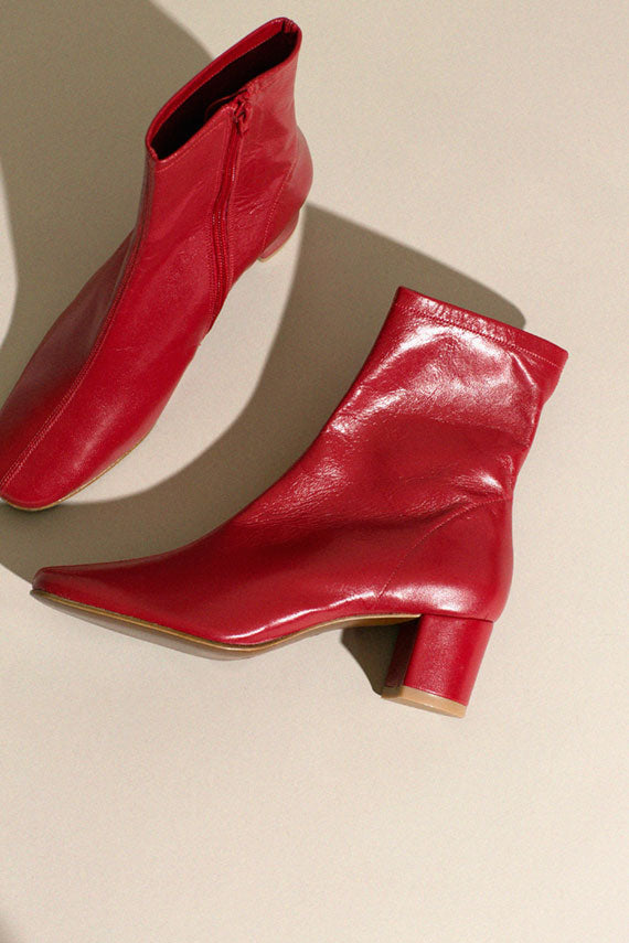 Red Sofia Boot