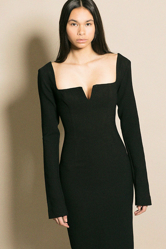 Black Calvin Dress