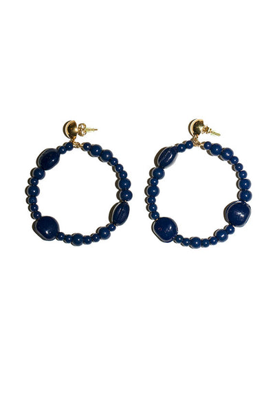 Blue Stadio Earrings