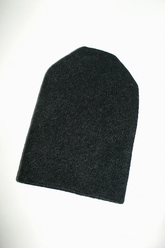 Black  Melange Carpenter Hat