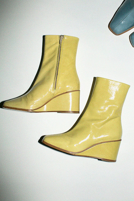 Yellow Callisto Boot