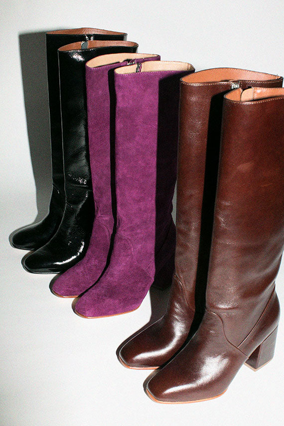 Syrup Leather Sloane Knee High Boot