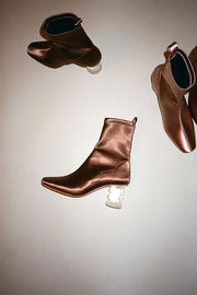 Bronze Crystal Binx Boot