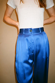 Royal Blue Justin Pleat Pant