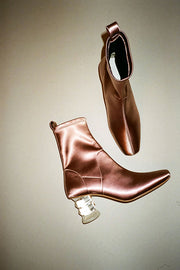 Dusty Pink Crystal Binx Boot