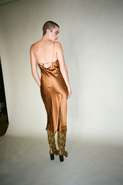 Bronze Sandoval Slip Dress