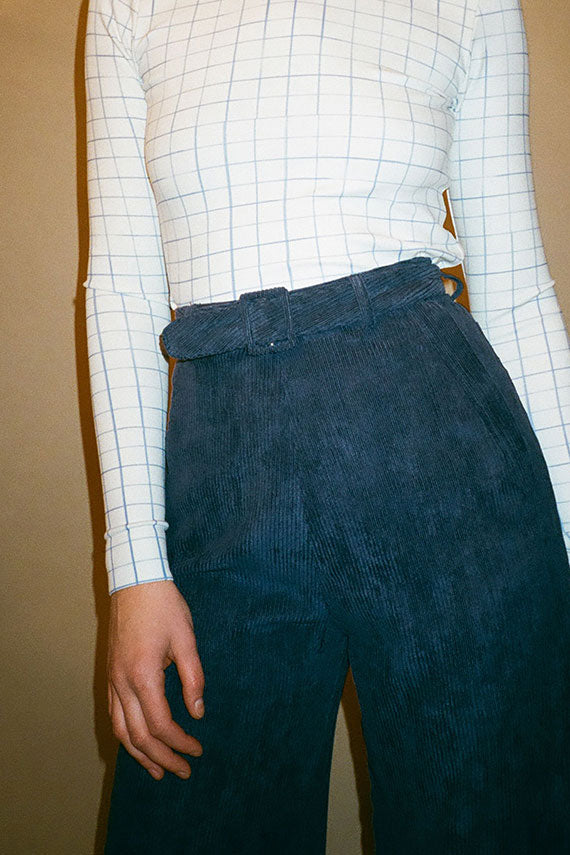 Navy Tightrope Pants