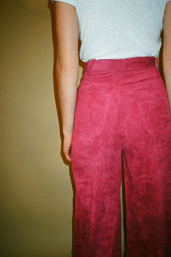 Magenta Tightrope Pants