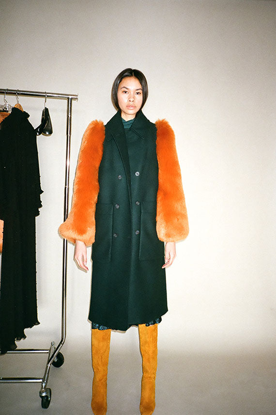 Dark Emerald Eira Coat