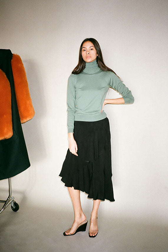 Winter Green Crestina Sweater