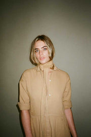 Golden Mabel Shirt Dress
