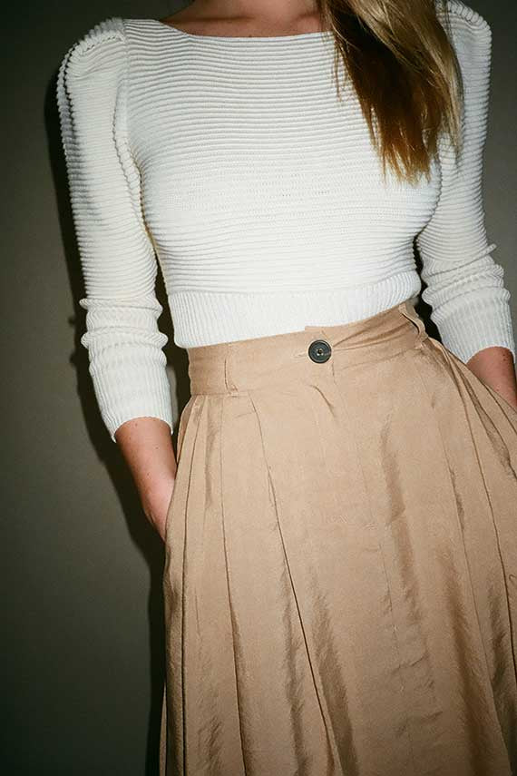 Cream Helena Sweater