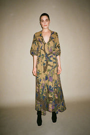 Olive Tree Cassandra Maxi Dress