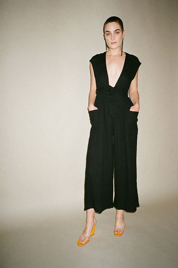Black Whitney Jumpsuit