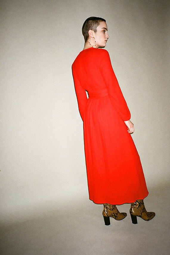 Red Luna Dress
