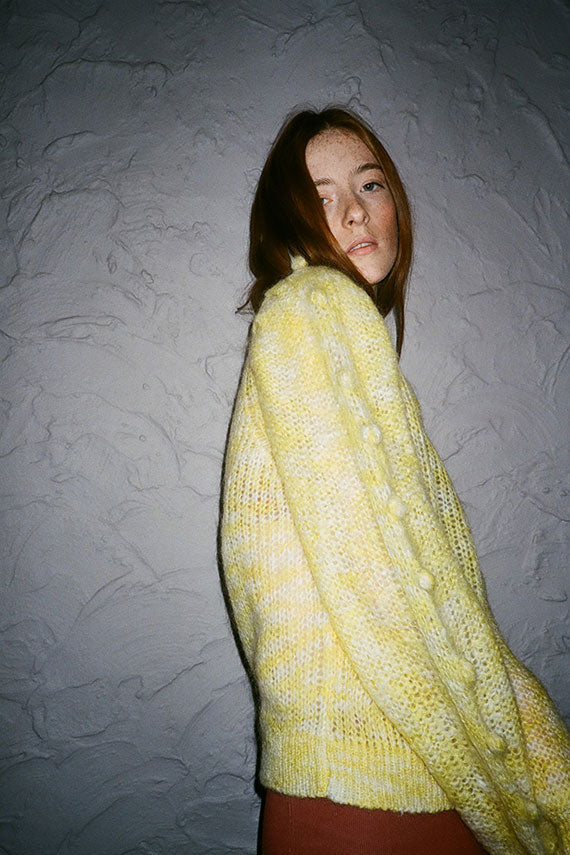 Light Yellow Svea Sweater