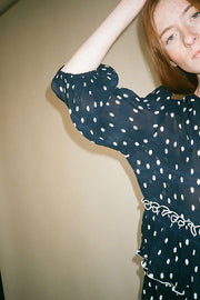 Polka Dot Lowell Tier Dress