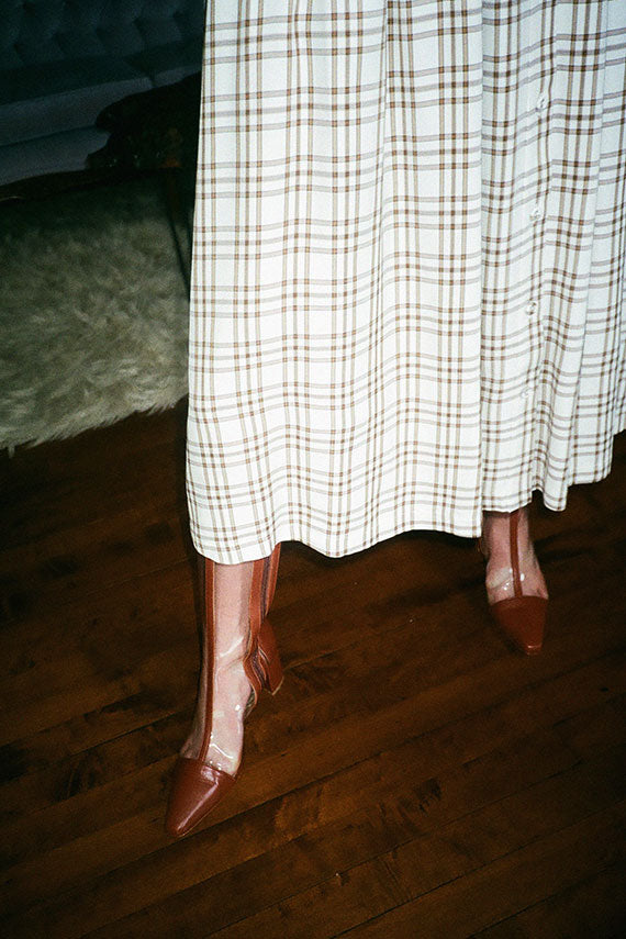 Curtain Plaid Kind Skirt