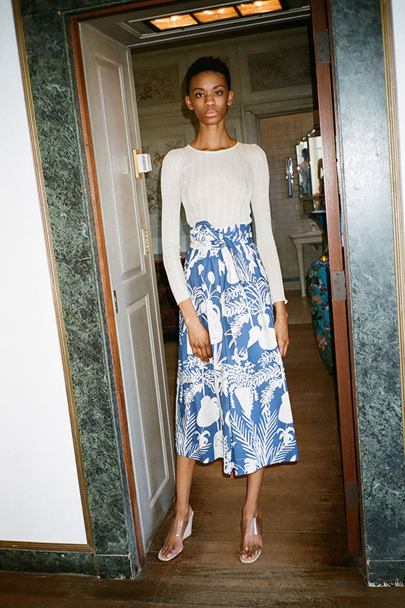 Potted Plant Kimani Skirt