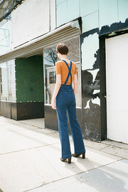 French Blue Eastcoast Flare Overall