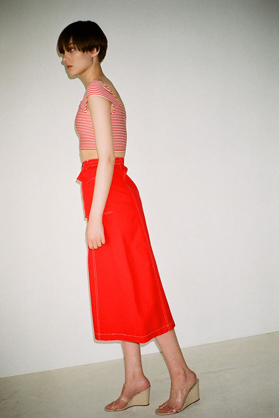 Red Hector Skirt