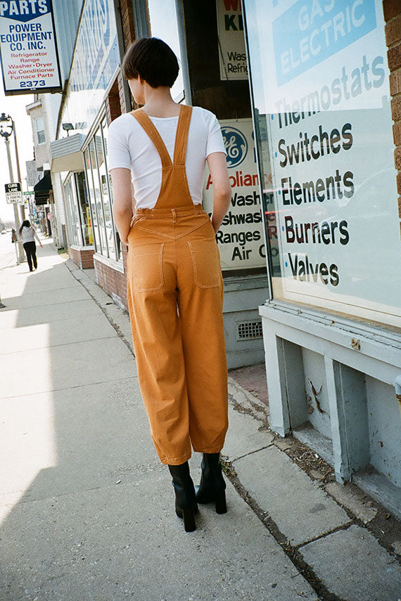 Camel Fat Boys Dungaree