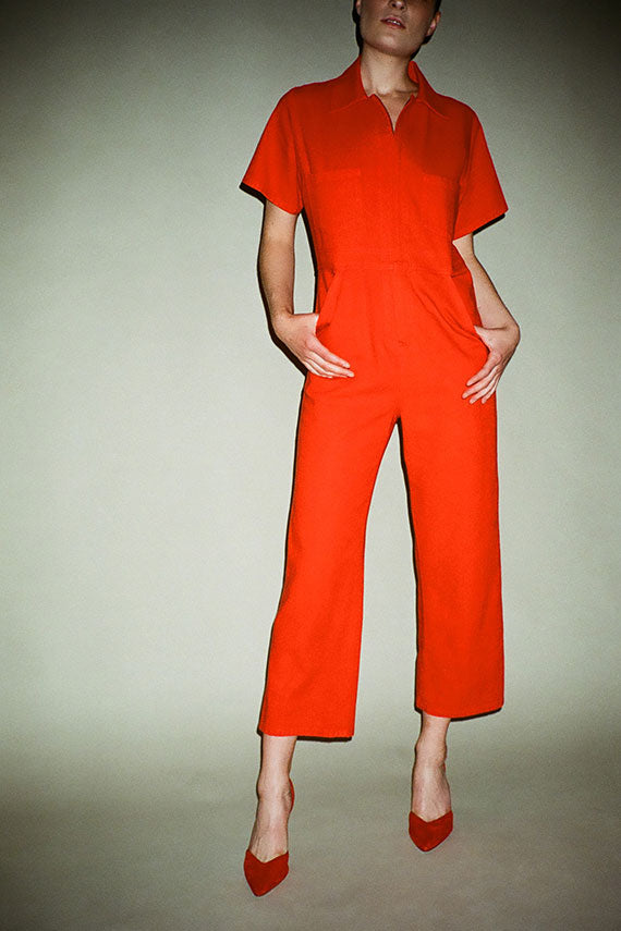 Red Freya Coverall