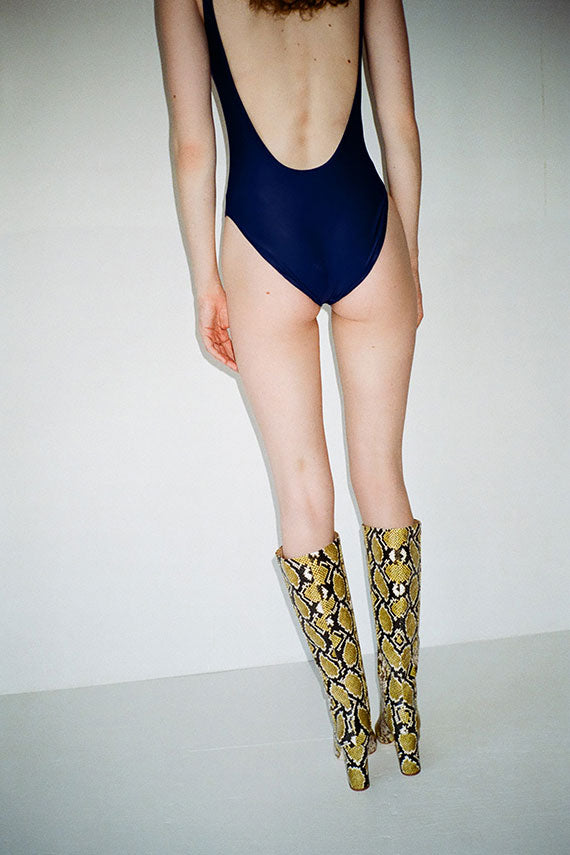 Lapis Square Swimsuit