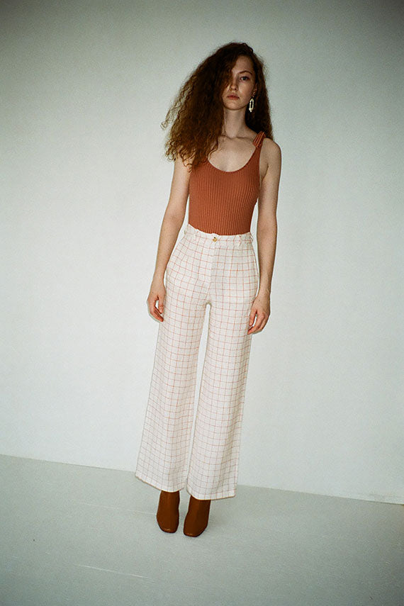 Margherita Check Pant