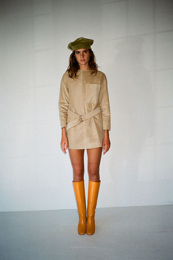 Wheat Belted Tunic
