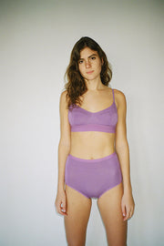 Chay Purple Soft Bra