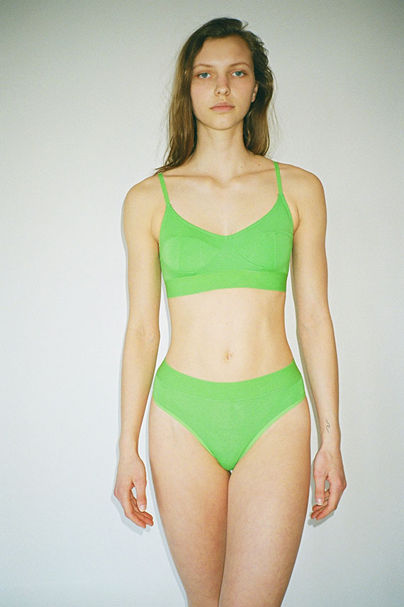 Ara Green Soft Bra