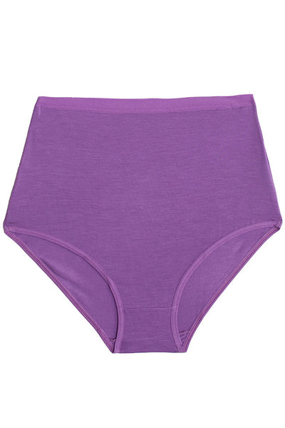 Chay Purple Highwaist Bell Pant
