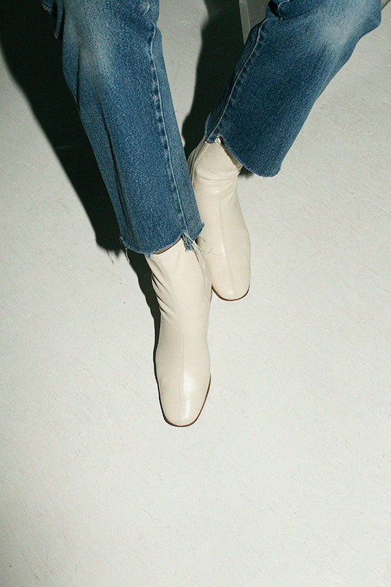 White Sofia Boot