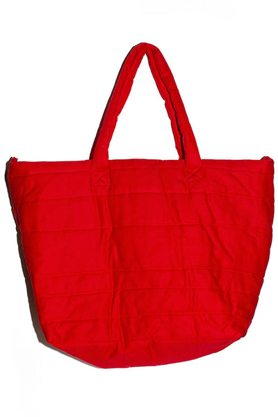Red Puff Bag
