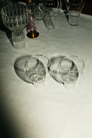 Medium Low Tulip Glass