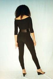 Black Eva Unitard