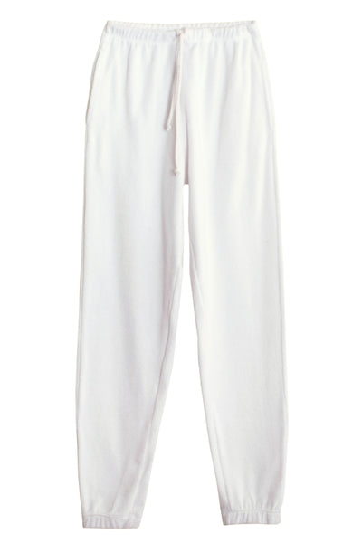 White Terry Beachwood Sweatpant