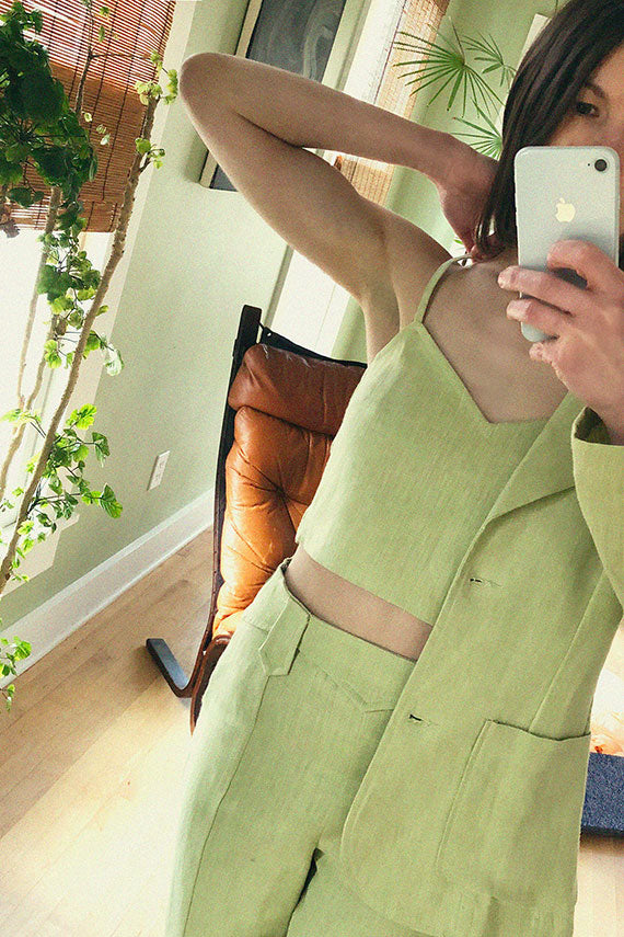 Pastel Lime Cairo Top