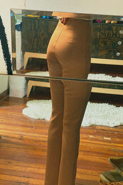 Toffee Bootleg Trouser