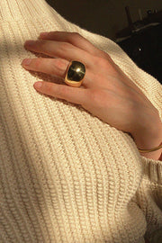Luiny Gold Tone Hanna Ring