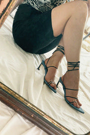 Dubie-Black and Blue Odd Sandal