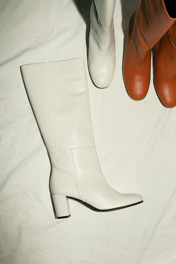 White Pam Boot