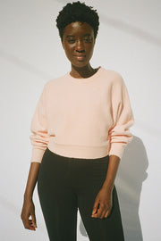 Pink Verne Knit Sweater