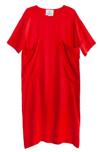 Red Glyn Dress