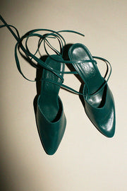Emerald Party Sandal