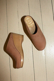 Sand Pink New School Wedge